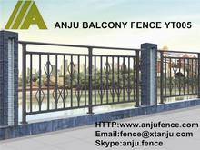 Steel decorative balcony grill designs