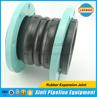 EPDM double arch rubber bellows joint for Chemical compound piping