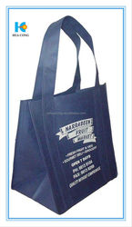 100gsm non woven bag with zipper closure and colored trim