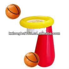 PVC inflatable water polo goal