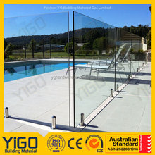 Regular Spigot Glass swimming Pool Fence