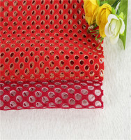 hot sale 100 polyester mesh fabric for fashion garment