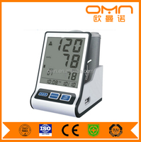 Fully automatic Digital arm blood pressure monitor with pulse oximeter sphygmomanometer CE ISO approval