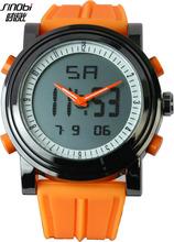 Custom Watch Face SINOBI LCD Watch Silicone Watch China Watch Factory Manufacture