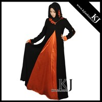 KJ-AM28 dubai style women long maxi dress muslim clothing 2015 online wholesale islamic fashion women modest clothing baju