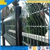 France Garden Black Welded Wire Panel Fence
