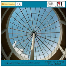 Customized Curved Glass Roof Glass Roof Sliding Round Glass Roofing 2972
