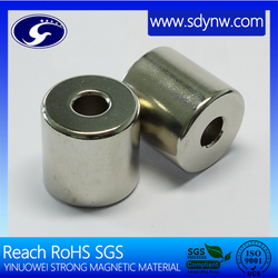 High Quality affordable professional manufacturer Powerful custom size cylindrical Neodymium magnets for sale