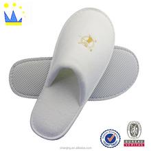 cheap cotton velvet disposable slipper for hotel