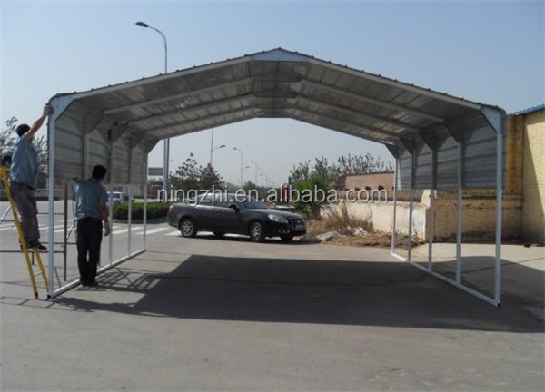 M tallique de stockage abri voiture vente voiture hangar for Container garage voiture