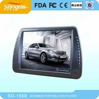 High quality large screen portable dvd player in low price made in china