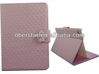 Hot sale magnetic leather flip case for iPad Air with stand leather case for ipad 5