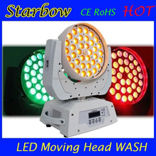 Perfect Color 36x15w RGBWA Zoom LED Moving Head Wash