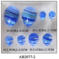(AB2077)beautiful glass eggs decorations for Easter gift