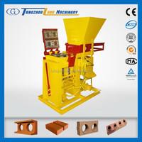 Eco Brava manual press interlocking soil block machine