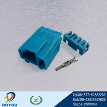 Custom 8pin auto wiring harness male connector for toyota