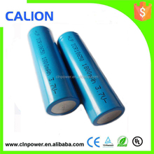 2015 hottest sales !High quality 1x18650 lithium rechargeable battery