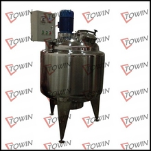 Hot sale stainless steel chemical reactor tank with pump