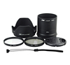 JJC Lens Adapter Kit Lens Hood Lens Cap for NIKON COOLPIX L840 Digital Camera