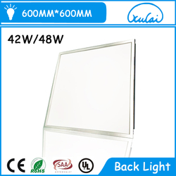Square recessed led panel lights aluminum frame