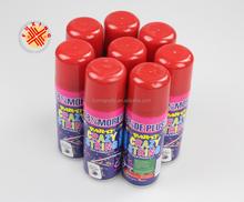 special christmas poppers snow color spray