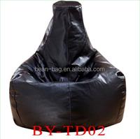 Faux leather Beanbag Tear Drop