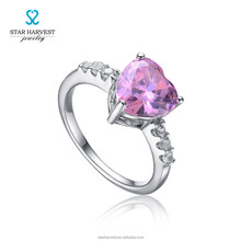 Romantic love imprint ring