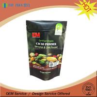 Durable environmental food grade plastic bags, packaging aluminum foil bags, foil ziplock bags
