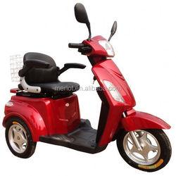 3 wheels 450w brushless motor 200 watt electric moped with 48v 20ah battery