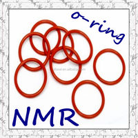 15*1.5 red silicone rubber o ring