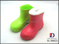 Lovely eva girls and boys rain shoes winter snow boots