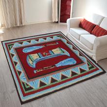 Hot sale popular 100% polyester hand tufted door mats