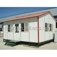 best price 20ft low cost prefab container house