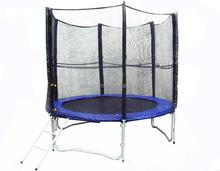 Round Trampoline with ladder