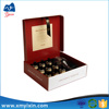 Best price sale cardboard gift clear wine glass packing box