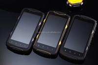 Shenzhen 2015 IP68 rugged phone, newest waterproof Walkie talkie, Android Dustproof Shockproof Rugged Smartphone GPS