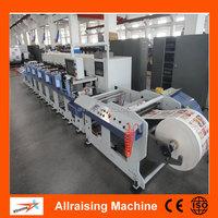 Full Automatic Self-Adhesive Label 4 Colour Flexo Printing Machine