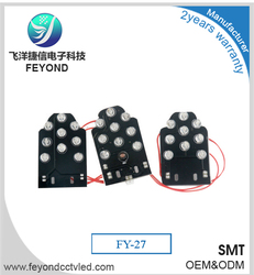 Alibaba China Feyond New products 27pcs led infrared lights fitting board for covert ahd camera