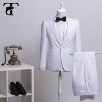 New Design Champagne Coat Pant Wedding Dress For Men,Bespoke Tailor Men Suits Formal Dress