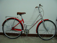 "26""high quality woman city bike/bicycle with alloy frame SWCB(046)"