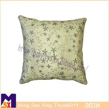 intricate satin fern leaf design rosemary cushion cover embroidery silk cushion