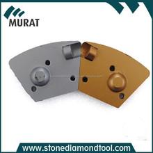 M6 Screw Concrete Glue Removing Trapezoid Diamond PCDs