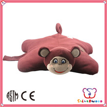 ICTI Factory fashion 100% wholesale competitive price handmade animal pillow