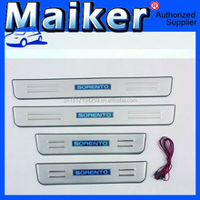 Competitive products of LED Door Sills From Maiker Door Sill Plate car accessories For Kia Sorento