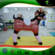 Promotional PVC Inflatable Animal , Inflatable Party Animal, Inflatable Animal Goat Toy For Kids