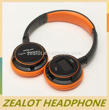 nuevo estilo plegable inalámbrico de auriculares con manos libres