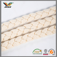 Huizhou Woven packaging soft 4mm polyester cord elastic cord for mask
