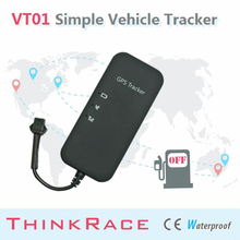 2015 Thinkrace Motorcycle vehicle tracking VT01 support remote power cut-off/car gps/car tracking/vehicle gps tracker