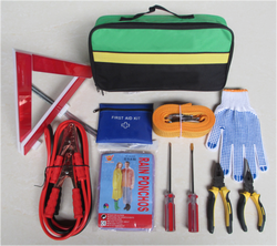 Professional and high quality car emergency kit