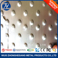 Thin Stainless Steel Embossed Plate For Metal Curton Walls
